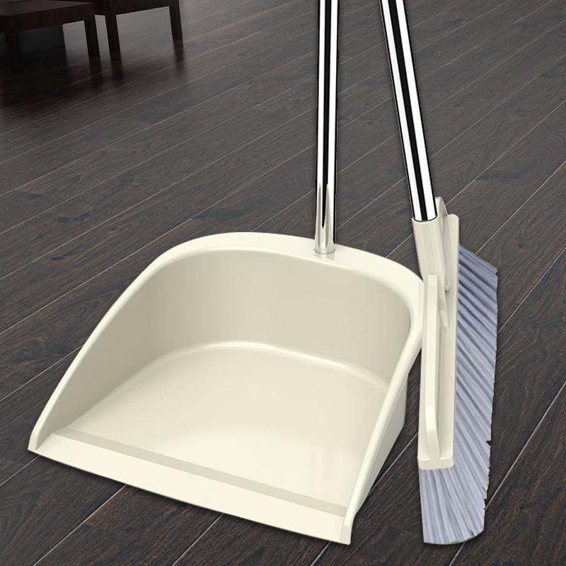 扫把簸箕套装组合家用软毛扫地扫不粘头发神器扫帚笤帚撮箕垃圾铲