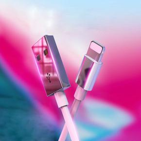 【原装正品】iPhone通用不锈钢数据线