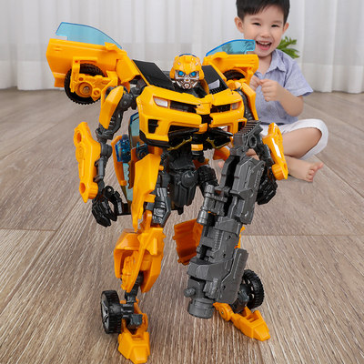 Deformation Toy Robot Capawa Bee King Kong Car Dinosaur Alloy Policy Boy Children's Transformation