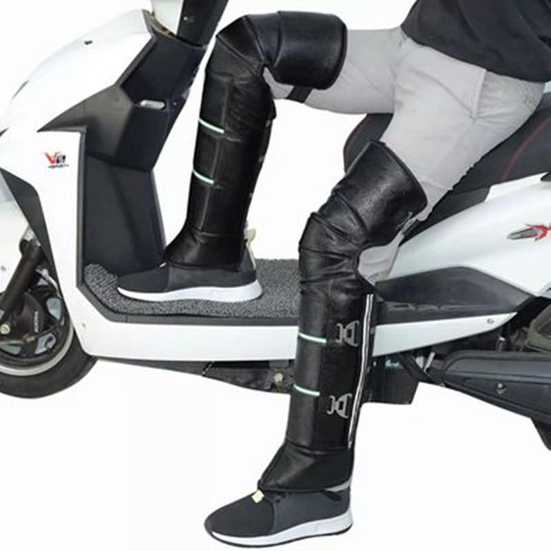 冬季摩托车护膝电动电瓶车保暖护