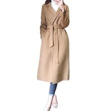 流行毛呢外套女中长款秋冬季韩版