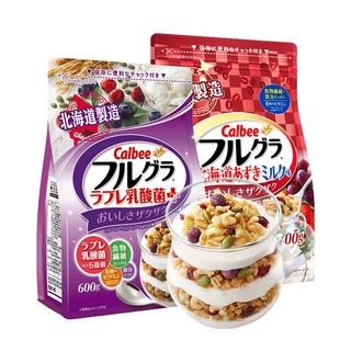 卡乐比水果麦片即食早餐营养2袋装