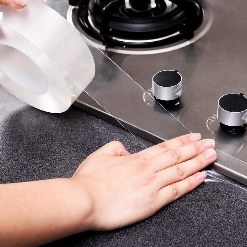 厨房水槽防水贴卫生间防潮美缝贴