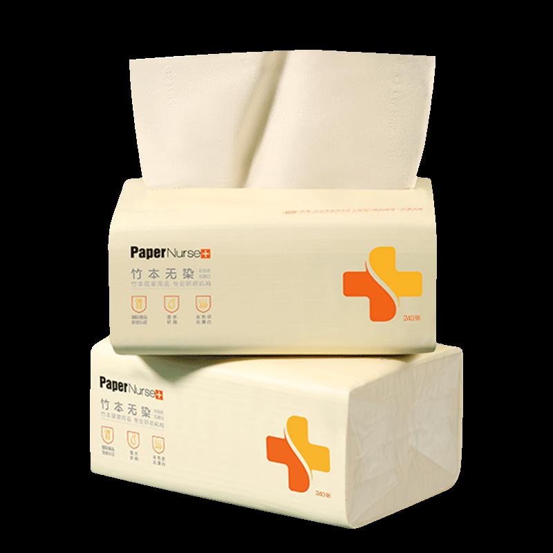 【纸护士】超柔本色抽纸12包