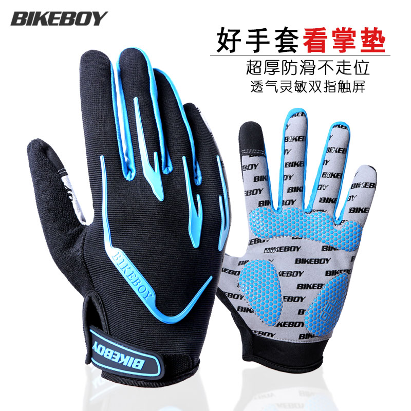 Usd 22 05 Bikeboy Riding Gloves Full Finger Autumn And Winter Touch
