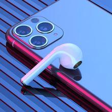 指纹触控无线蓝牙运动耳机一对带充电仓通用