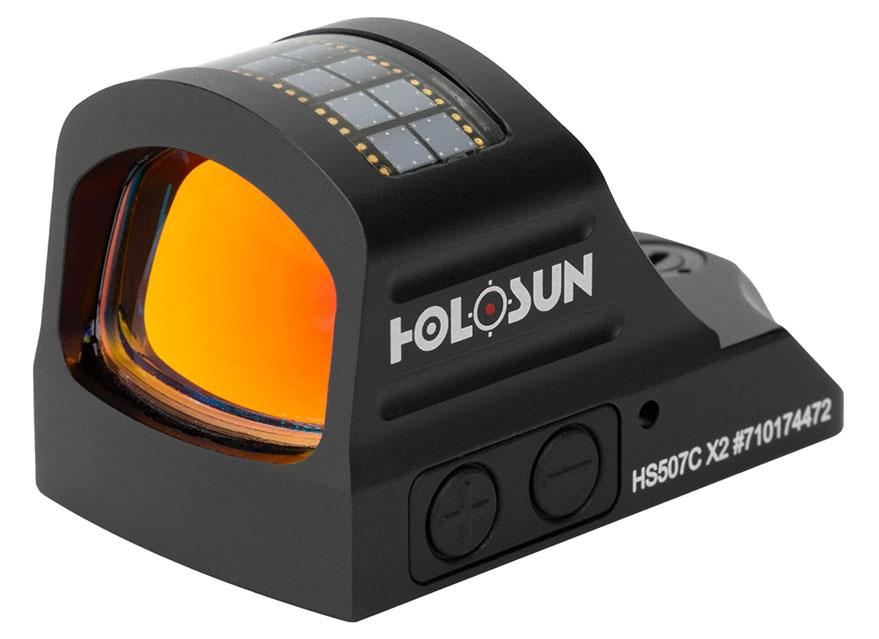 昊阳HOLOSUN HS507C X2 红点瞄准镜高抗震