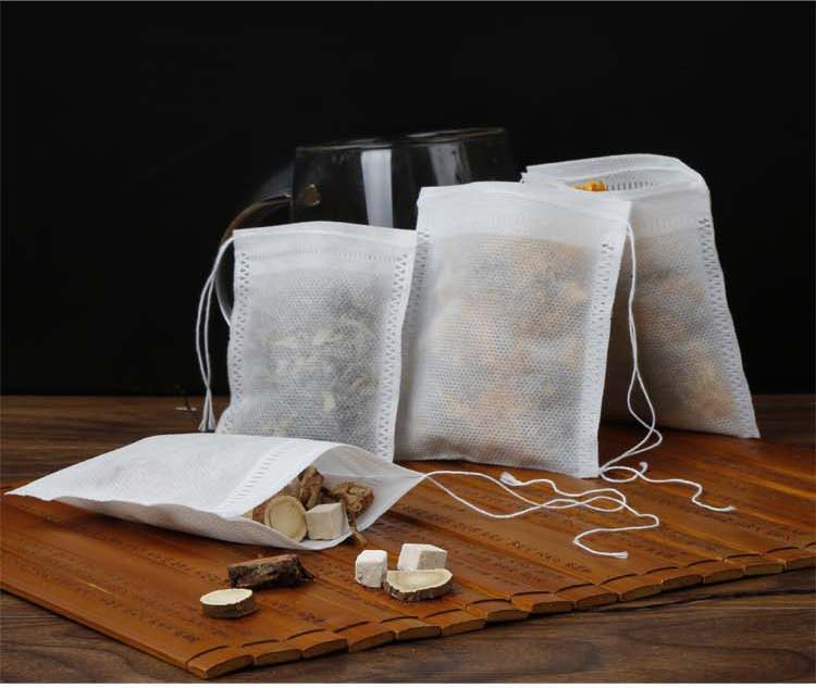 100个无纺布中药袋泡茶袋茶包袋煲鱼袋卤料调料过滤袋隔渣一次性详情图