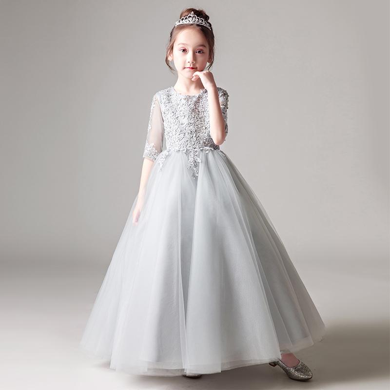 Детские Платье юбки для маленькой принцессы юбка на девочку Пушистое свадебное платье из цветной девушки