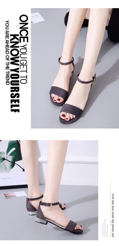XCZJ Korean Style 2018 Summer Women Sandals Open Toe Flip Flops Women's Flat Sandle With low Women Shoes Gladiator student Shoes 18