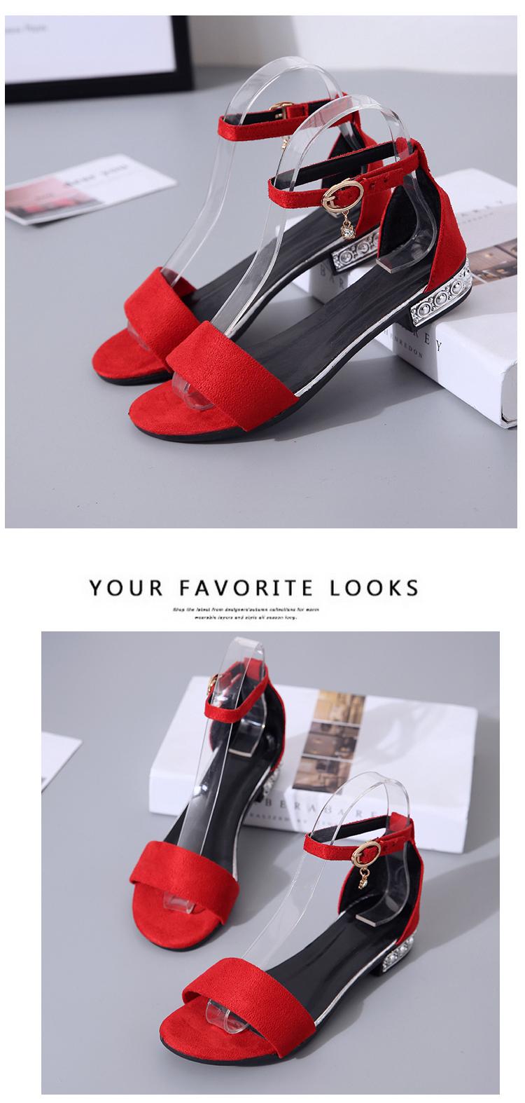 XCZJ Korean Style 2018 Summer Women Sandals Open Toe Flip Flops Women's Flat Sandle With low Women Shoes Gladiator student Shoes 14
