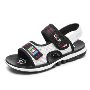 男童凉鞋2018新款夏季韩版中大童学生沙滩鞋真皮儿童鞋男孩宝宝鞋