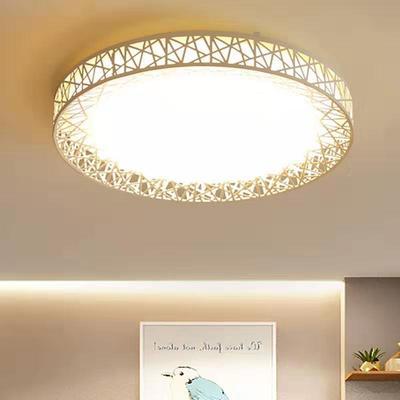 简约现代圆形客厅卧室led吸顶灯