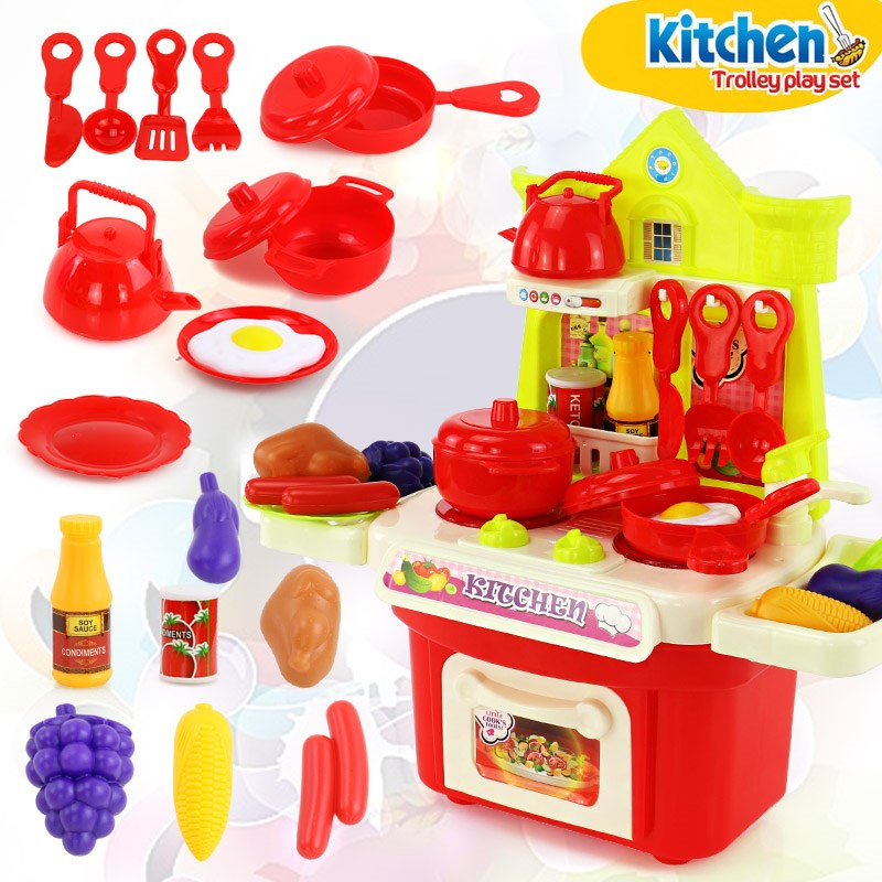 C1 RED CASTLE KITCHEN (CAN BE STORED)