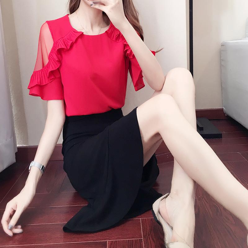 女装韩版秋季连衣裙气质两件套鱼尾裙套装裙