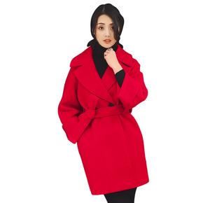 矮小个子毛呢外套中长款毛呢大衣
