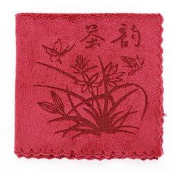 全度 加厚吸水茶巾 茶具茶道专用布艺抹布功夫茶布大号茶垫