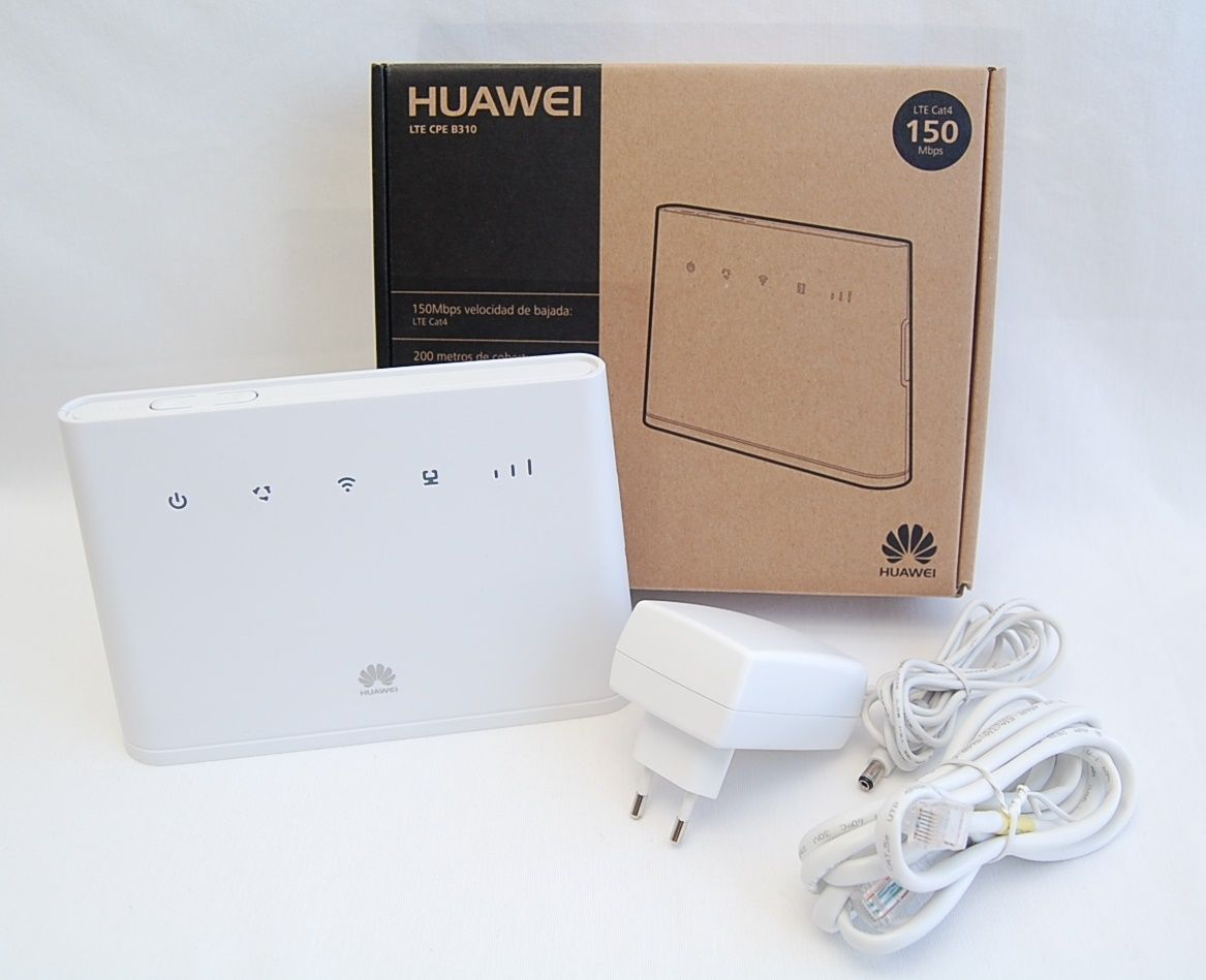 Huawei B310 s-22 telecom Unicom LTE mobile 4G wireless router to wired  broadband router CPE