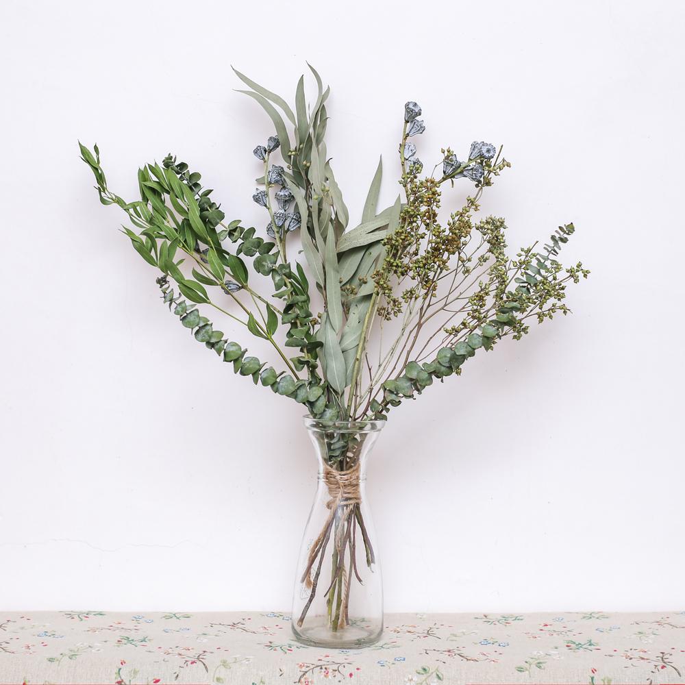 USD 18.43] Eucalyptus leaves combination with vase eucalyptus leaves ...