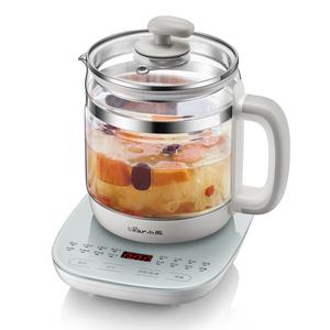 小熊养生壶全自动加厚玻璃煮茶器迷你办公室花茶壶电热烧水壶养身