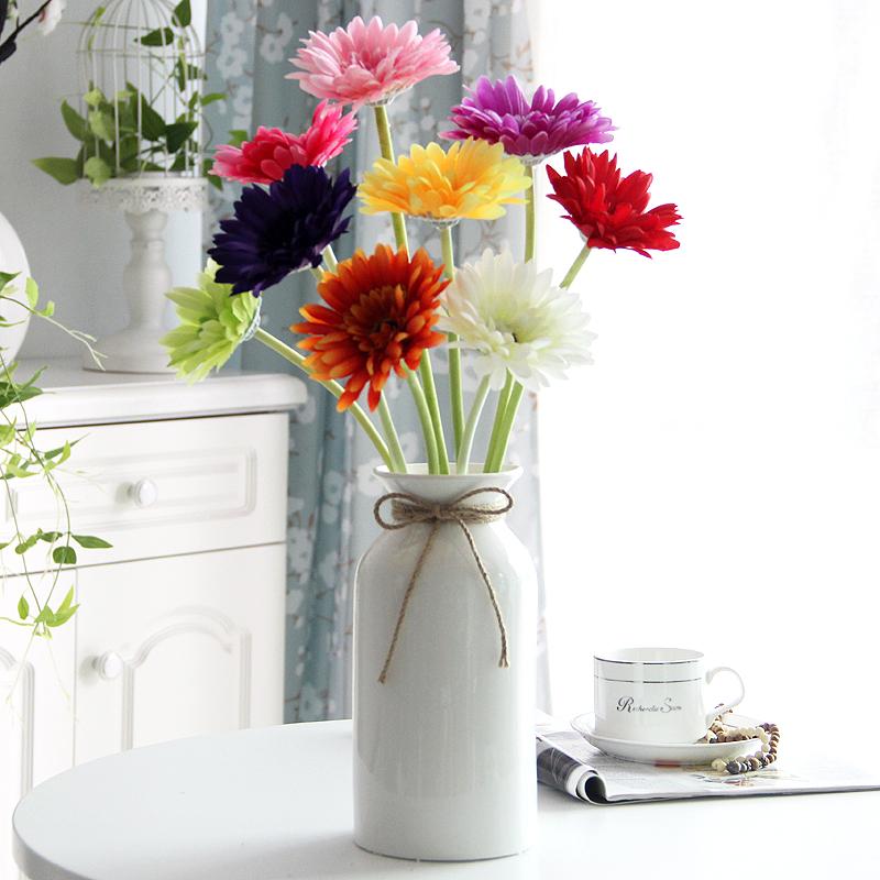 Gerbera bunga taman ruang tamu tunggal gerbera gerbera lantai bunga susunan  bunga buatan bunga bud bunga dba3a5d067