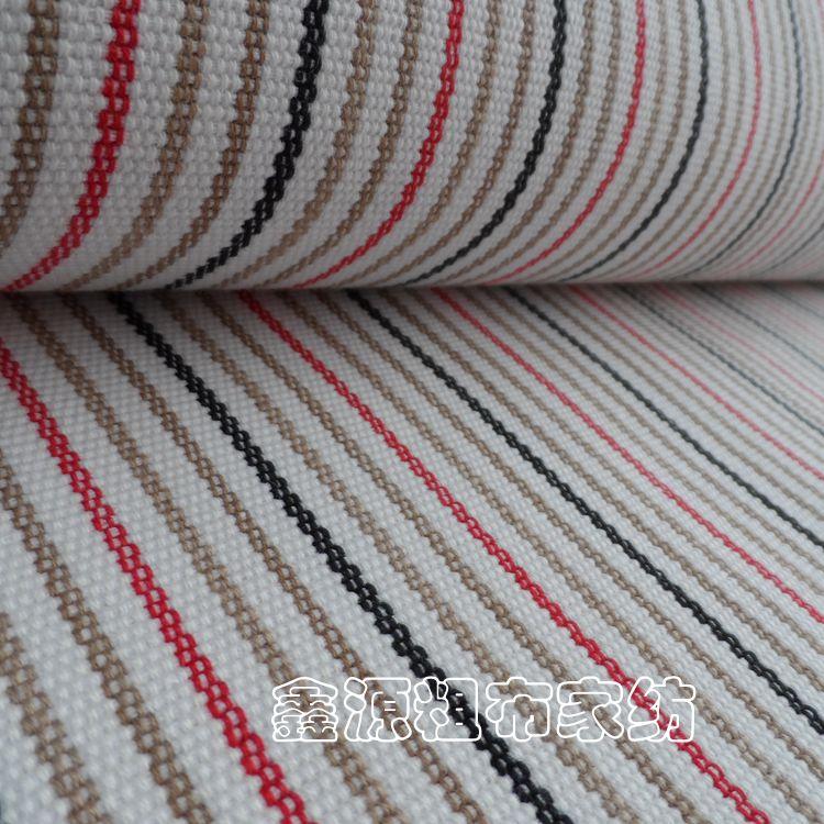 Khuyến mãi vải thô cũ vải mã hóa dày bốn mùa chăn vải cotton sọc vải có thể được tùy chỉnh khăn sofa - Vải vải tự làm