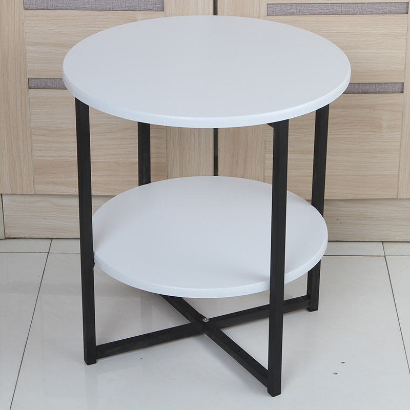 small coffee table simple mini sofa side cabinet small round table