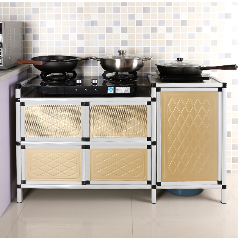 Cupboard Aluminum Alloy Kitchen Cabinet