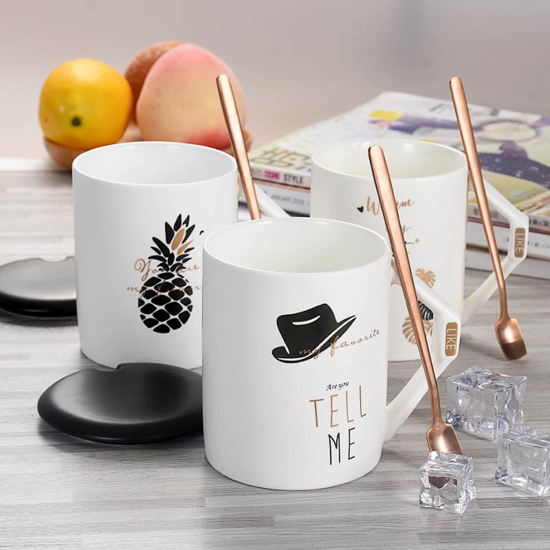 马克杯陶瓷杯子牛奶咖啡水杯-给呗网