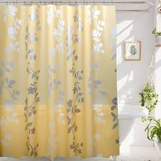 Bathroom waterproof shower curtain set free punching bathroom shower curtain hanging curtain room partition door curtain blackout curtain