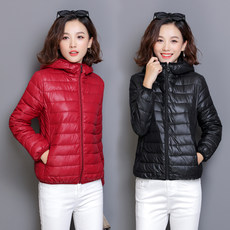 Ms. cotton 2019 winter new Korean loose thin feather padded cotton jacket coat short paragraph students