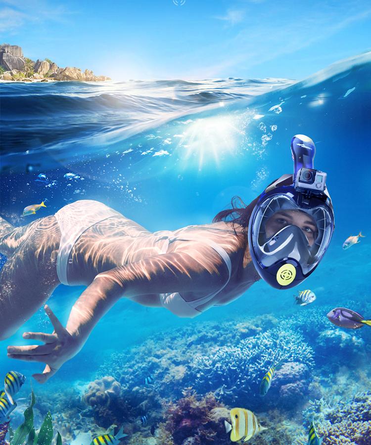 评测|上手即玩,一款会呼吸的浮潜面罩