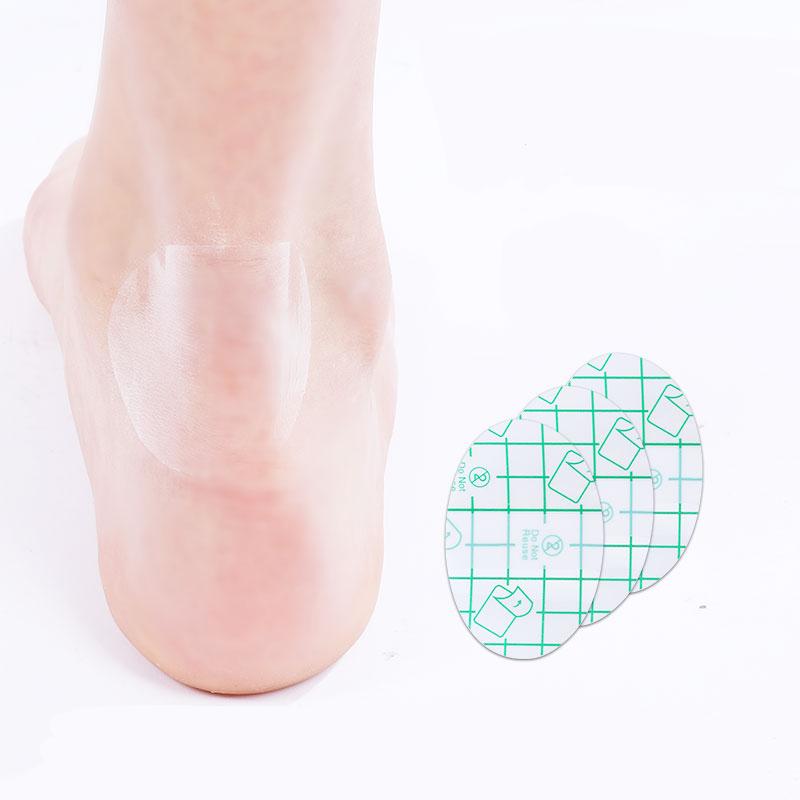 后跟贴透明隐形防磨脚贴后跟垫防磨贴高跟鞋半码垫防掉跟防滑鞋贴