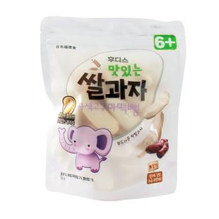 韩国进口幼儿宝宝零食紫薯味大米饼
