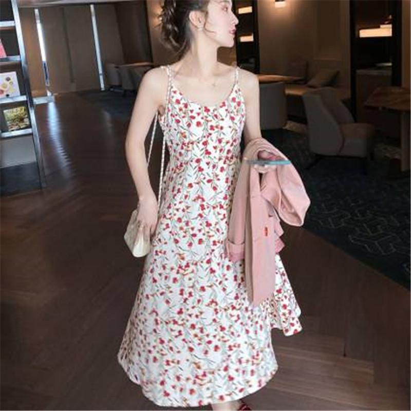 新款春季时尚A字裙韩版蓬松中长裙