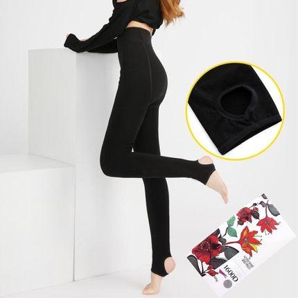【茉莉精灵旗舰店】秘蜜之冠 1600D秋冬款加绒打底裤