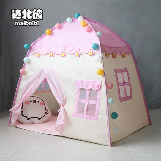Maibei children tent baby play house indoor princess girl small house doll house child birthday gift