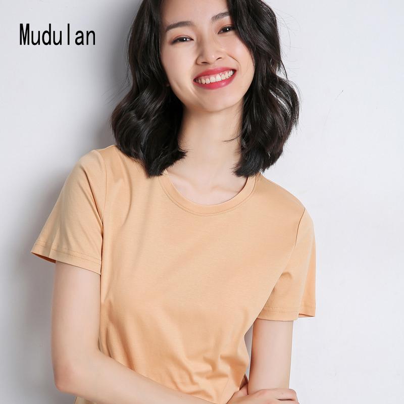 【拍2件】100%纯棉圆领短袖T恤