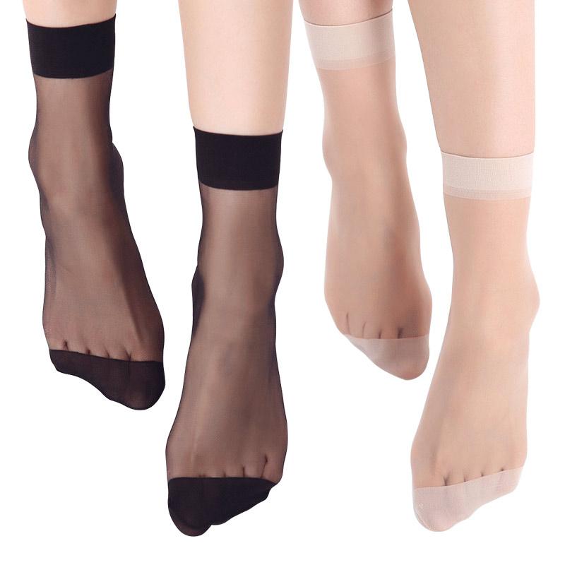 宝娜斯防滑薄款丝袜20双