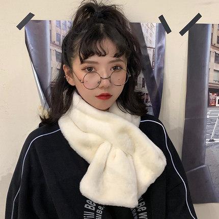 【今年超火哒!】韩版可爱毛绒围脖