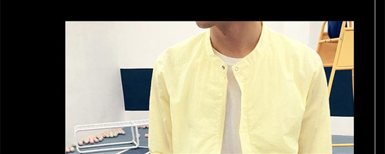 2017 mùa xuân mới xu hướng Hàn Quốc phiên bản của mỏng áo khoác nam phần mỏng áo giản dị hoang dã đẹp trai quần áo chống nắng