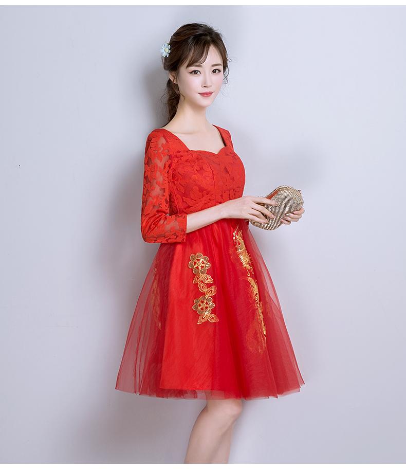 红色结婚礼服 - 1505147909 - 太阳的博客