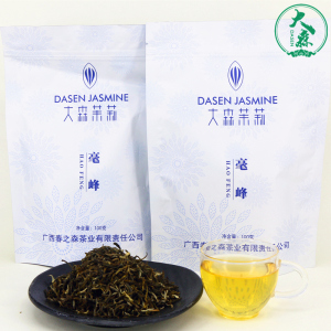 【大森】浓香型茉莉花茶袋装毫峰100g