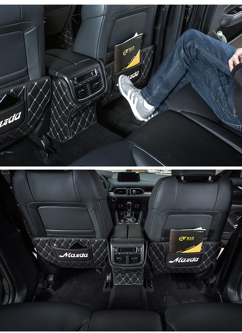 Thảm ốp ghế sau và ốp điều hòa Mazda CX8, Mazda 6 - ảnh 13