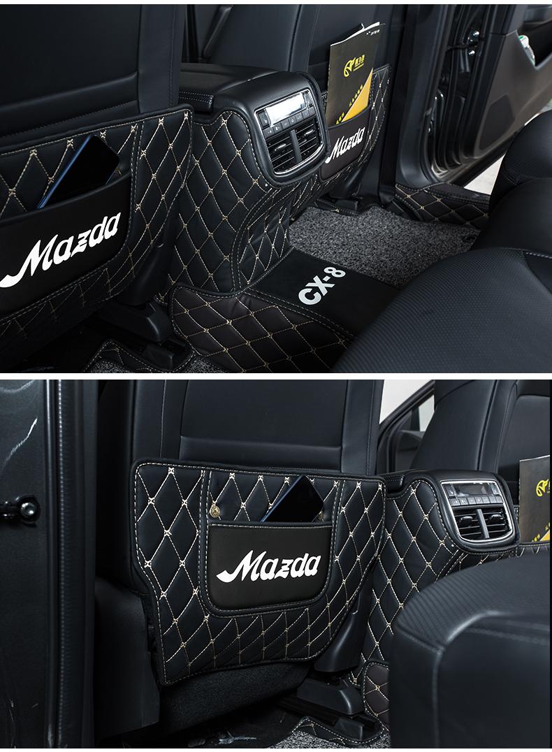 Thảm ốp ghế sau và ốp điều hòa Mazda CX8, Mazda 6 - ảnh 12