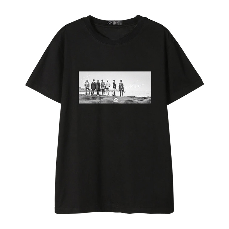 MONSTA X Cotton Casual T-shirt