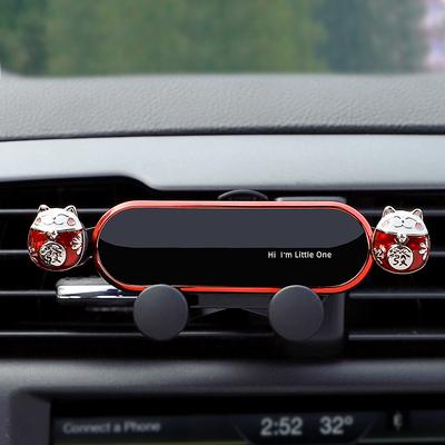 车载手机支架汽车用吸盘式高档通用型导航支驾支撑夹车内车上粘贴