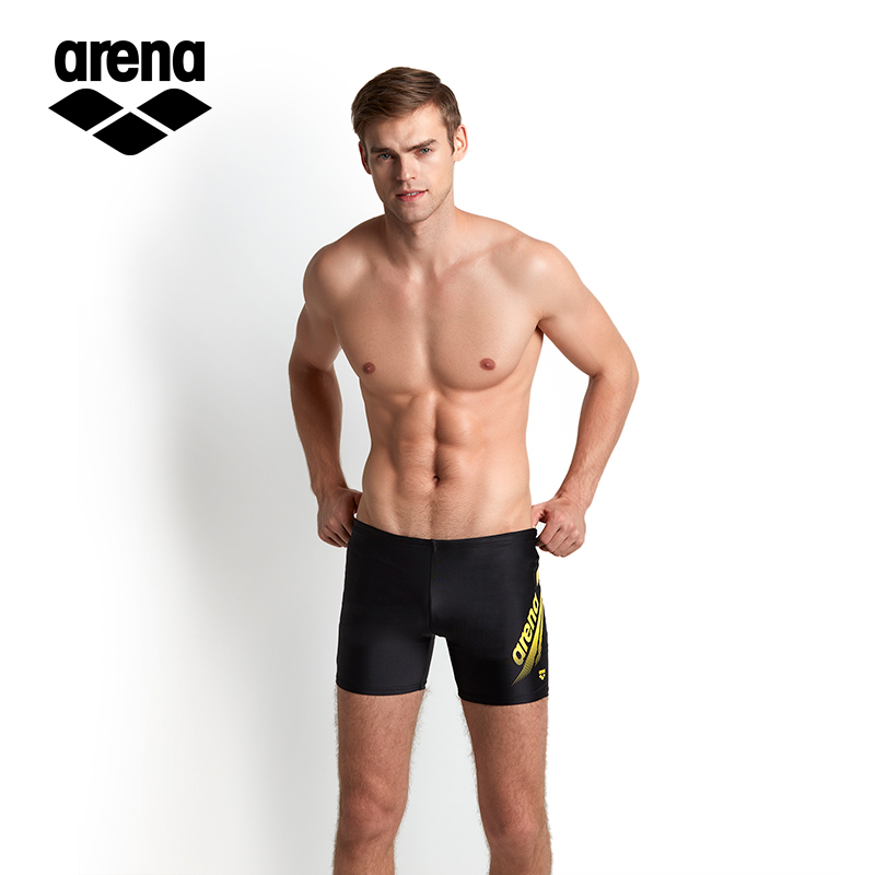 2b39dfb83c USD 47.69] arena Arina swimming trunks men's angle professional ...