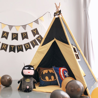 Cartoon child tent g...