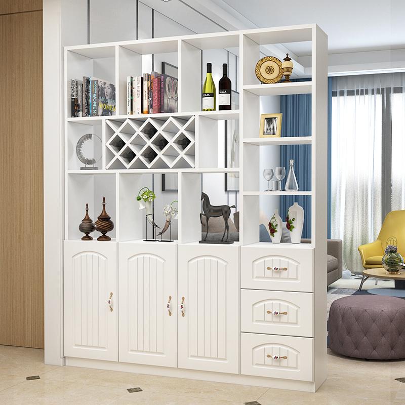Настоящее время поколение Простой европейский ресторан крыльцо кабинет гостиная винный шкаф экран декоративный шкаф дверь Шкаф для хранения хранения в холле